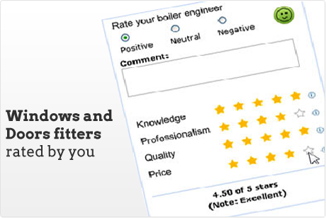 Windows and Doors installers rated by you